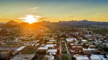 UArizona at Sunset